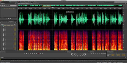 Voz de E-learning en Adobe Audition